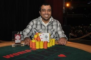 Musa Taher, winner of Event #3