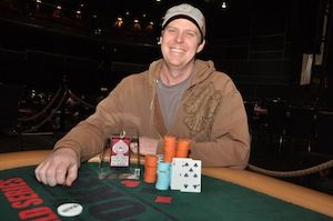"Michael ""Carwash"" Schneider, winner of Event #5"