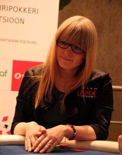 Ave Lepik - 2012. aasta Eesti naiste meister turniiripokkeris