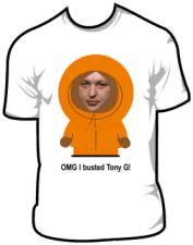 """Marškinėliai atiteks žaidėjui, nuskynusiam """"Tony G"""" galvą"""