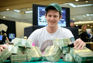 Waxman from his 2010 WSOP Circuit victory in Atlantic City