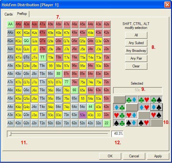 """""""Pokerstove""""- jūsų kortų kombinacijos stiprumo skaičiuoklė 103"""