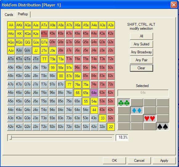 """""""Pokerstove""""- jūsų kortų kombinacijos stiprumo skaičiuoklė 105"""