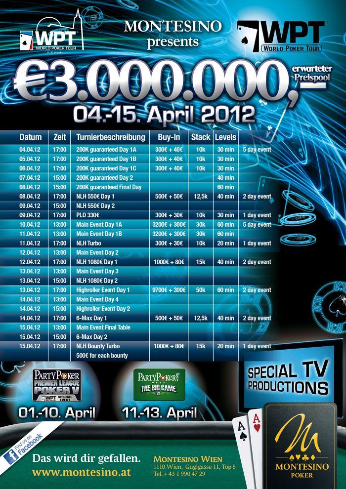 Eksklusiv WPT Wien pokerpakke til PokerNews' læsere hos PartyPoker 101