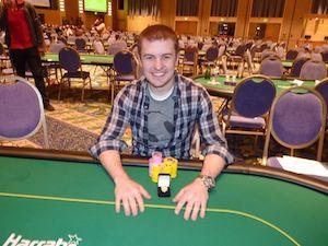 Dean Buchanan, winner of Event #2