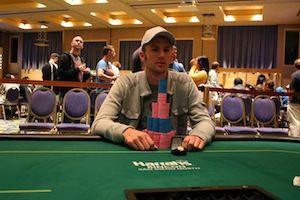 Josh Evans, winner of Event #7