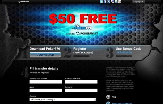 Poker770: Hoe krijg ik  gratis? 106