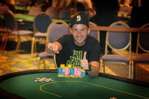 Corey Cutrell, winner of Event 8