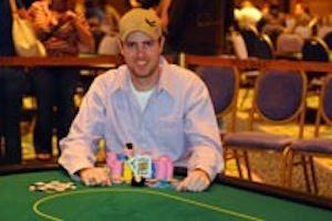 John C. Harris, winner of Event #9