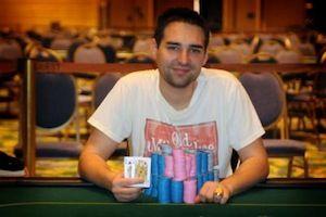 Brandon Cantu, winner of Event #10