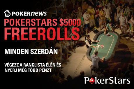 PokerNews +EV: William Hill Sunday Blast, PokerStars ,000 Freeroll és ingyen  101