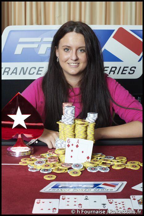 Veronika Pavlíková, zdroj: PokerStars.fr
