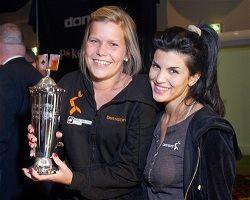 NM vinner Ida Landsverk og Aylar Lie. Bilde: www.donkr.com
