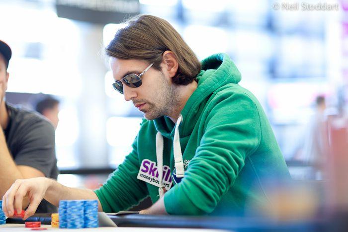 PokerStars.com EPT Campione: De Visscher aan de finaletafel, Soulier chipleader 101