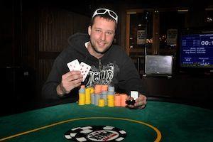Brent Glantz, winner of Event #1