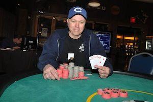 Dave Kerrigan, winner of Event #4