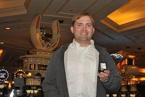 Jonathan Hanner, winner of Event #5