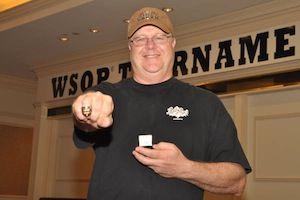 Duane Gerleman, winner of Event #6