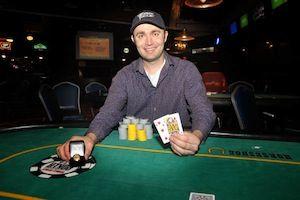Aaron Ruppert, winner of Event #8