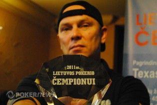 2011 m. Lietuvos čempionas ir Nesės pokerio klubo įkūrėjas Ričardas Vymeris