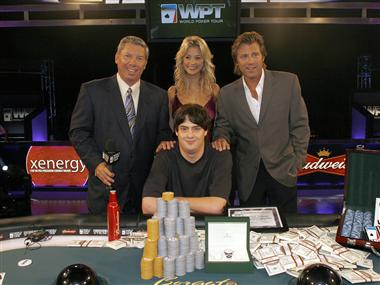 Picture courtesy of World Poker Tour.