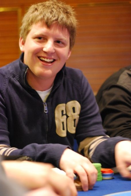 "Vincelis ""PokerNews LT Invitational"" turnyro metu"