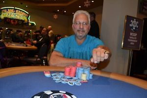 Kevin Balsman, winner of Event #3