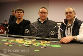 Unibet Masters Kaunas finalinis trejetas