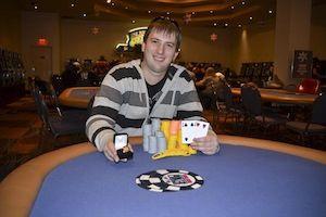 Adam Laskey, winner of Event #6