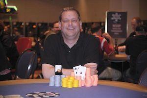 Stephen Friedel, winner of Event #8