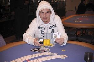 Eddie Smurzynski, winner of Event #9