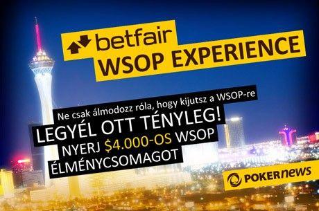 PokerNews +EV: Betfair WSOP Experience, ajándék  a Poker770-en 101