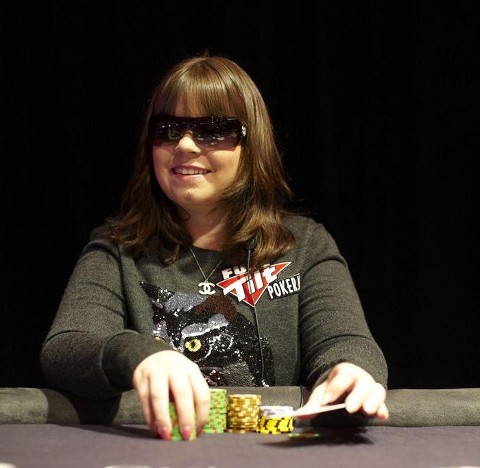 Annette Obrestad i fra tiden som Full Tilt Poker proff