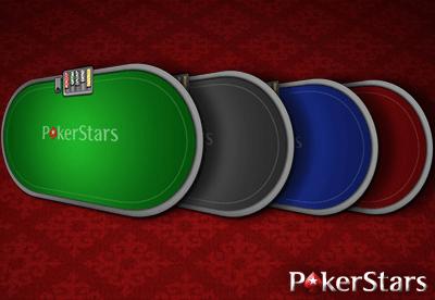 Избор на фон и цвят на масите на PokerStars
