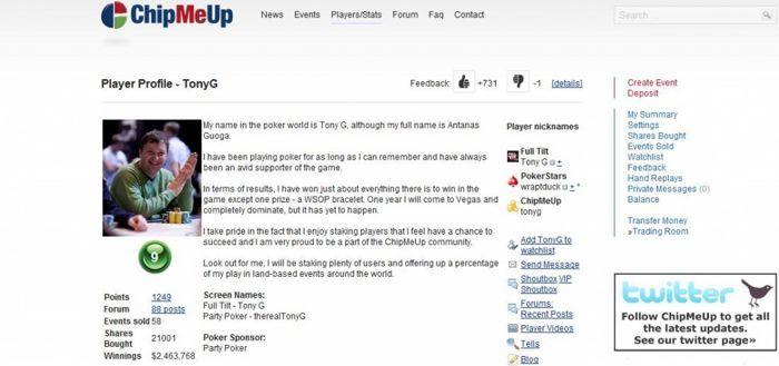 Pokerio įrankiai: ChipMeUp investavimas ir akcijų pirkimas 101