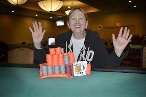 Kat Bowen, winner of Event #5.