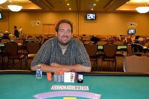 Ryan Gentry, winner of Event #4.