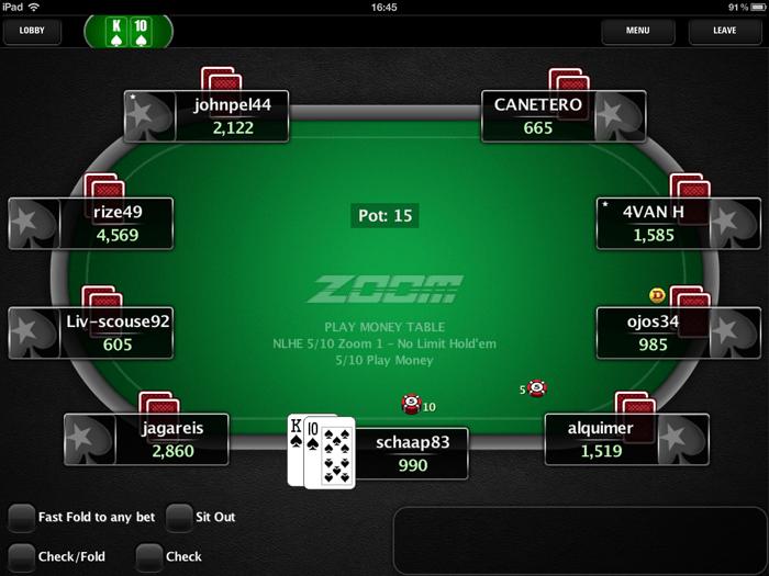 Nog voor de zomer moet je Zoom Poker kunnen spelen op je mobiele apparaat
