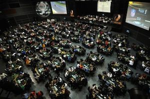The Venue at the Horseshoe Hammond. Picture courtesy of WSOP.com.
