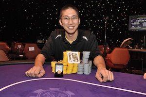 Jonathan Tamayo, winner of Event #5.