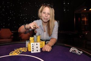 Loni Harwood, winner of Event #4.