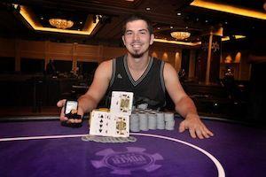 James Calcagno, winner of Event #7.