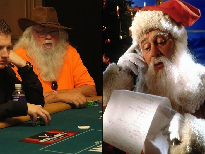Santa? Shouldn't you be at the North Pole?