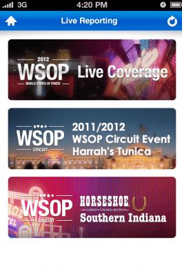 Last ned vår App og få med deg det siste av pokernyehter og live oppdateringer fra WSOP, direkte på din iPhone eller Android.