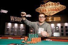 Tomas Junek kom for første gang i penge ved en WSOP øvelse og vant sitt første WSOP bracelet