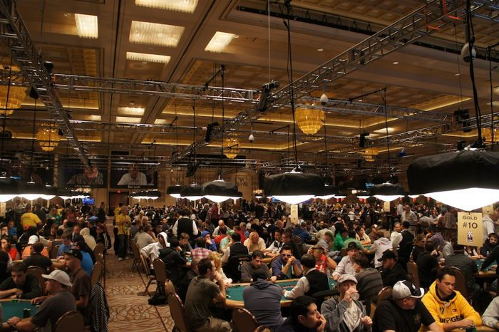 The Brasilia Room Filled With Players From Event #59