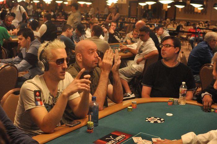Bertrand 'EklY' Grospellier and Matt Matros