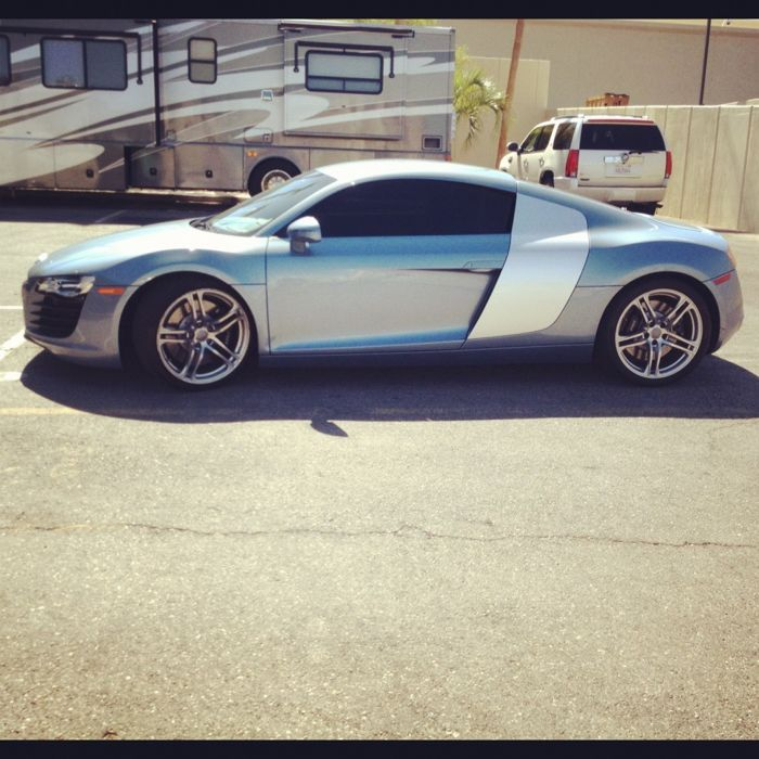 The Audi R8