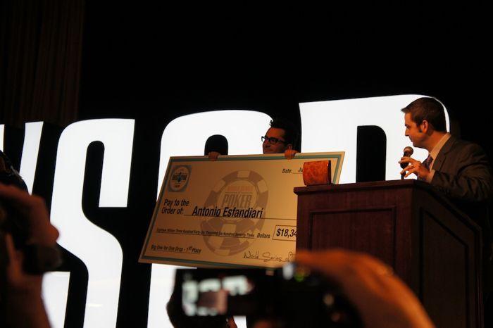 Esfandiari and his $18 Million Check