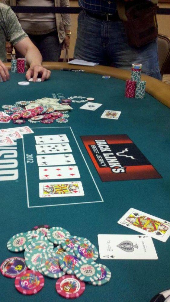 Den mærkværdige hånd fra $5/$10 cash-gamet ved WSOP.